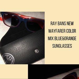 Ray Bans Wayfarer Color Mix Sunglasses (Unisex)